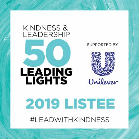 Our leading light for Kindness in Leadership